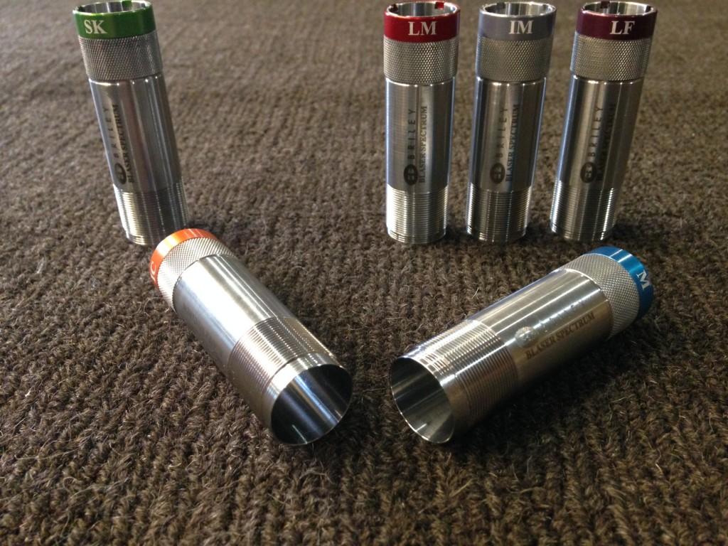 Blaser F3 & F16 – 12ga Spectrum Extended Choke Tubes | Mulliner Guns